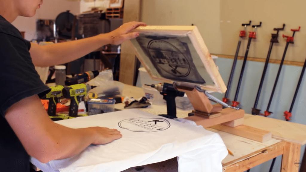 DIY Screen Printing Press