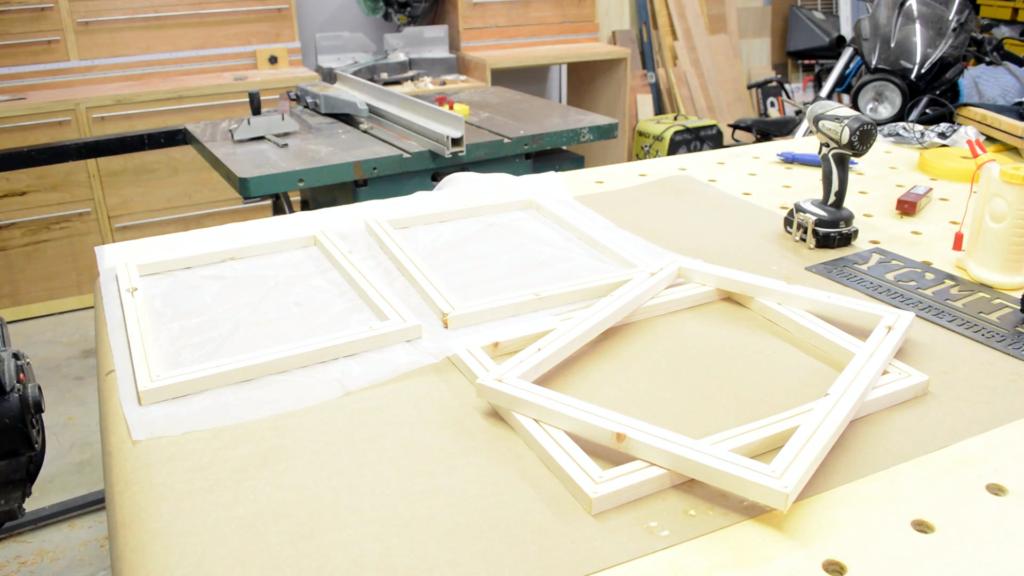 DIY Screen Printing Frame