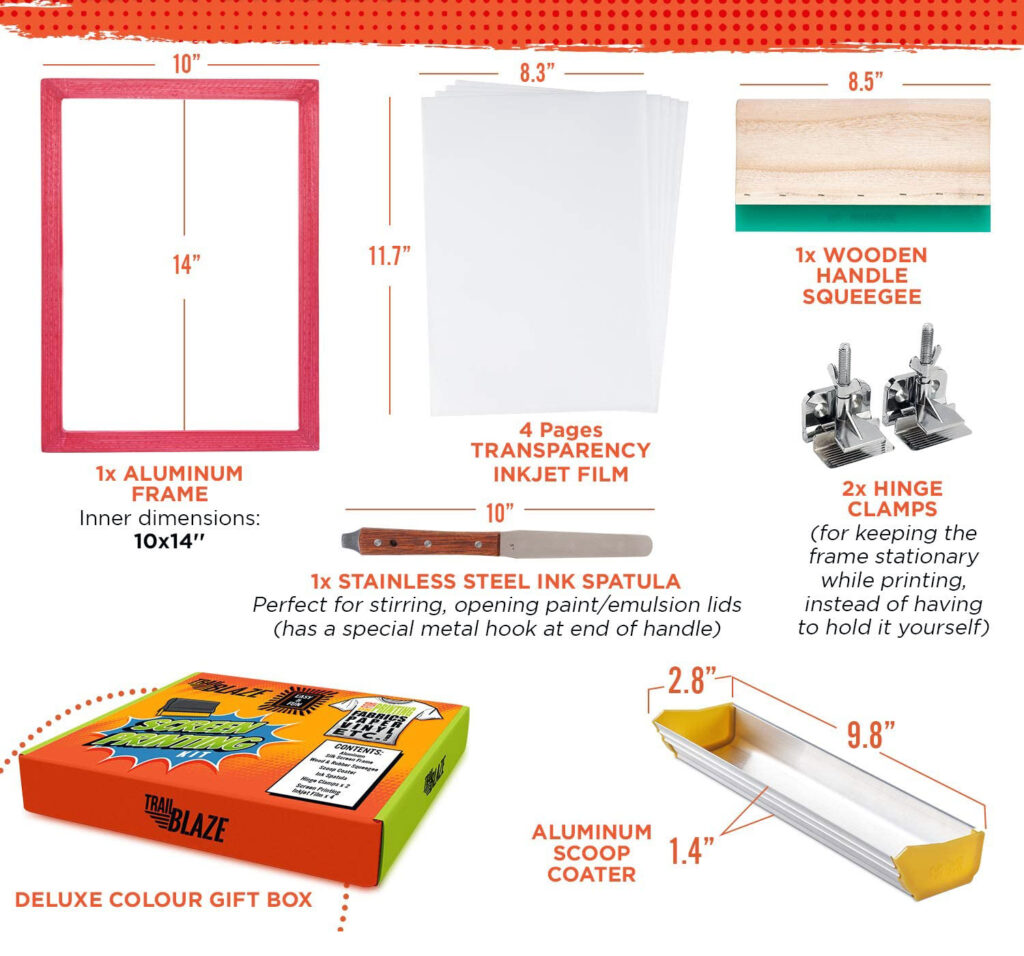 Screen Printing Kit for Professionals